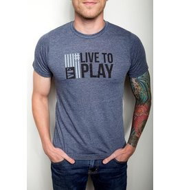 Vic Firth Live To Play Tee (L)