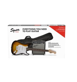 Squier Squier Strat Pack Brown Sunburst
