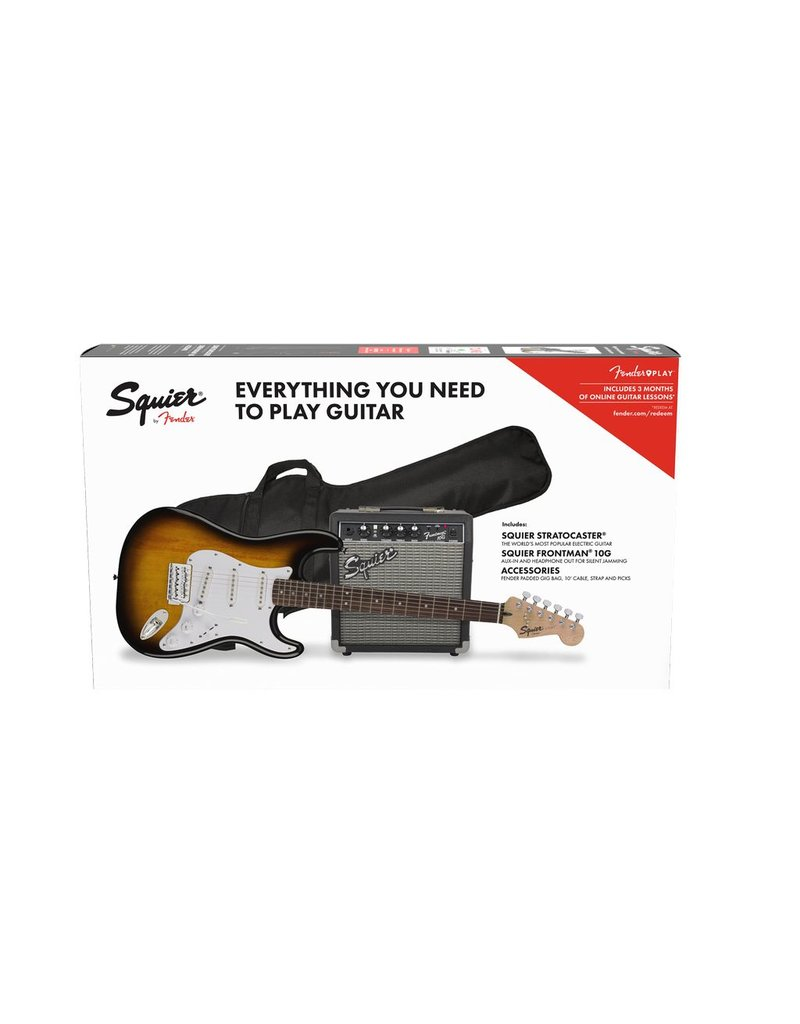 Squier Squier Affinity Strat Pack Brown Sunburst