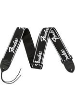 Fender Running Logo Strap, Black