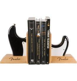Fender Fender Fender Strat Body Bookends, Black