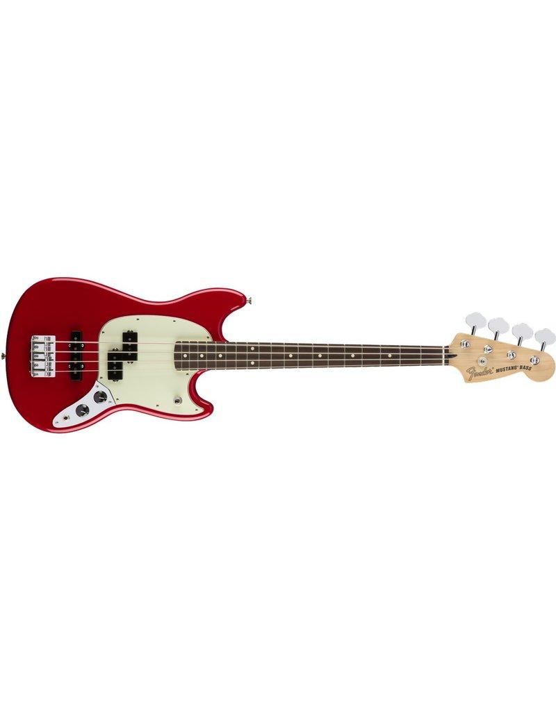 Fender Mustang Bass PJ, Torino Red