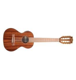 Kala Gloss Mahogany Tenor 8-String w/ EQ