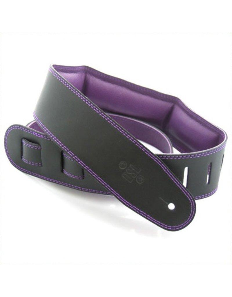 """DSL DSL 2.5"""" Padded Garment Black/Purple,"""