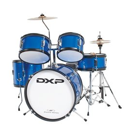 DXP Junior Series 5-piece Drum Kit Metallic Blue