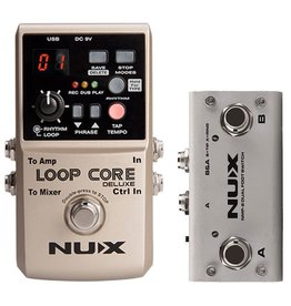 NUX Nux Loop Core Bundle with Dual Switch