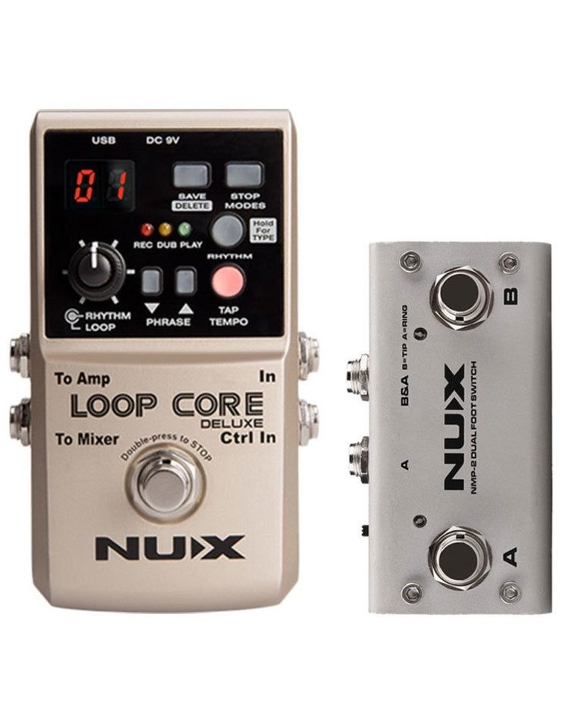 NUX NUX Nux Loop Core Bundle with Dual Switch