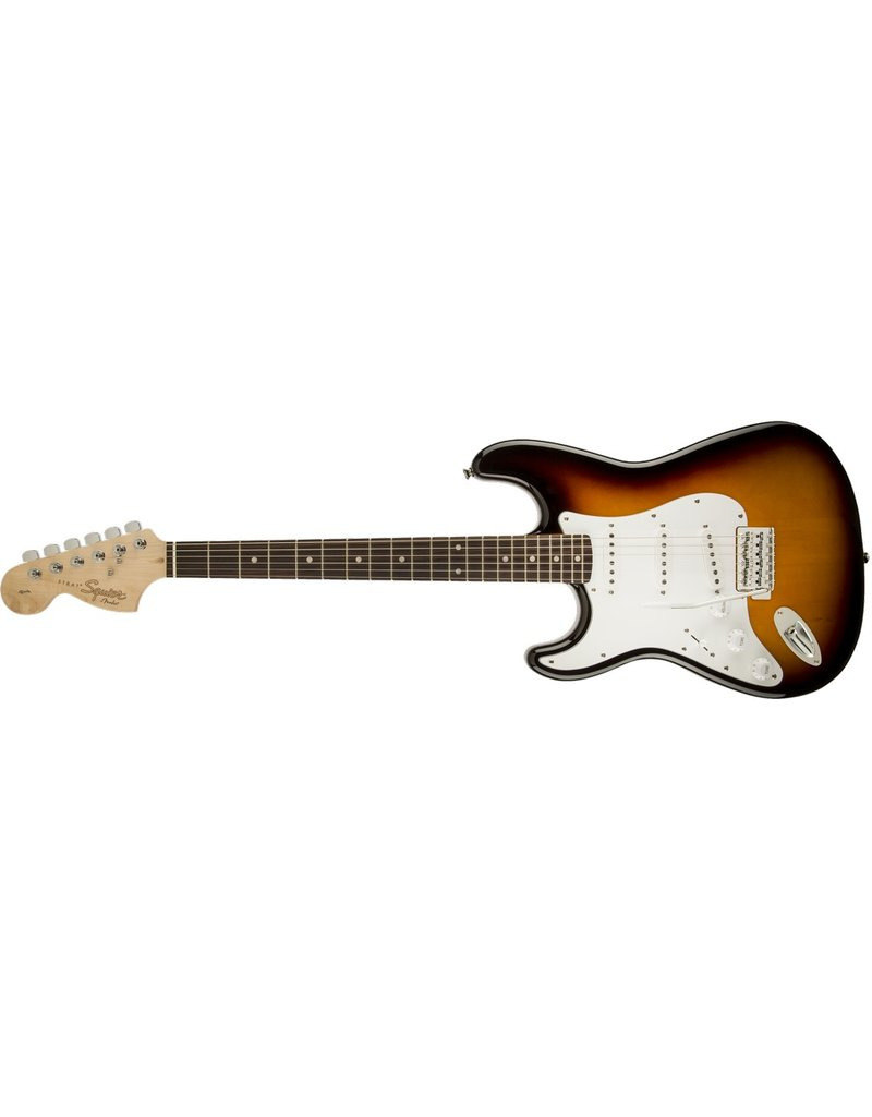 Squier Affinity Stratocaster, Left-Handed, Brown Sunburst