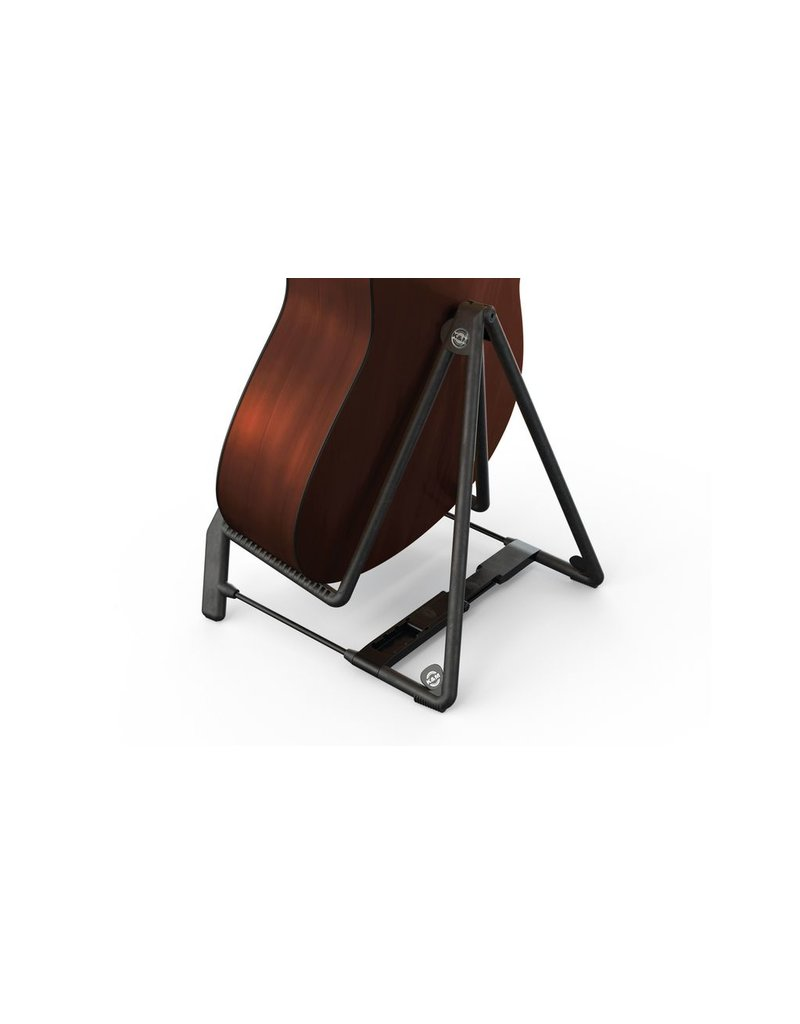 K&M K&M Black Heli 2 Acoustic Guitar Stand