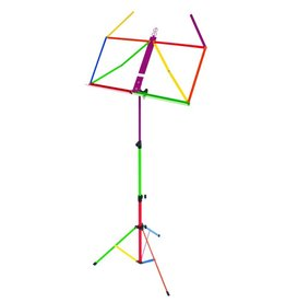 Ams Rainbow Music Stand w/ Bag