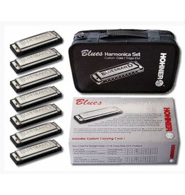 Hohner 7 Piece Blues Harmonica Set