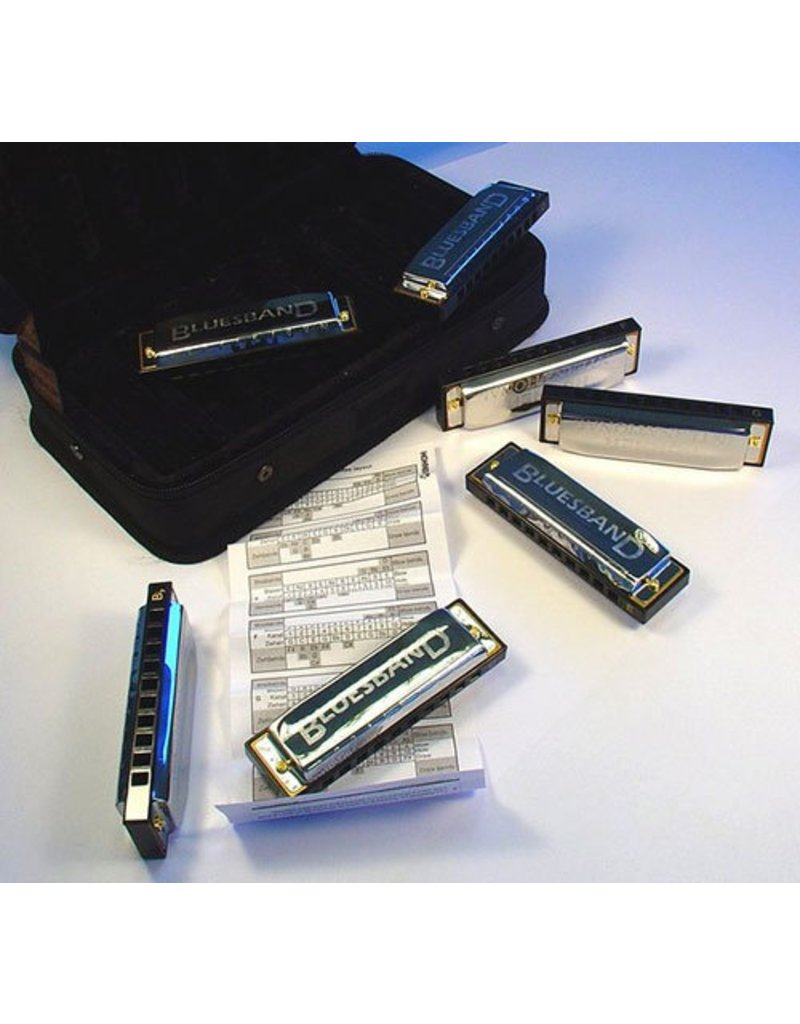Hohner Hohner 7 Piece Blues Harmonica Set