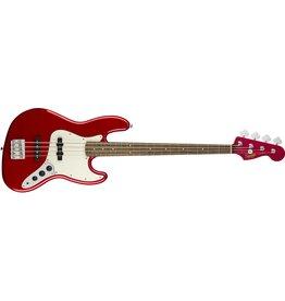 Squier Contemporary Jazz Bass, Dark Metallic Red