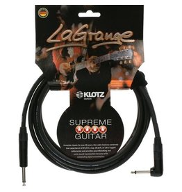 Klotz LaGrange Guitar Cable Straight/Right 6m