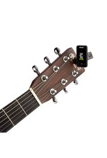 Planet Waves Planet Waves Eclipse Headstock Tuner, Black,