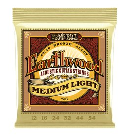 Ernie Ball Ernie Ball Earthwood Medium Light 12-54