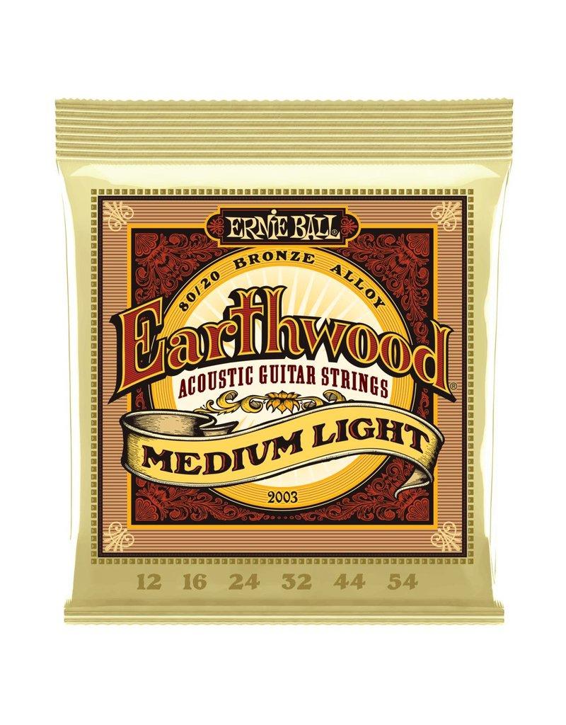 Ernie Ball Ernie Ball Earthwood Medium Light 12-54