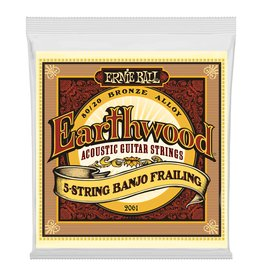 Ernie Ball Earthwood 5 String Banjo 10-24