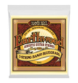 Ernie Ball Earthwood 5 String Banjo 9-20