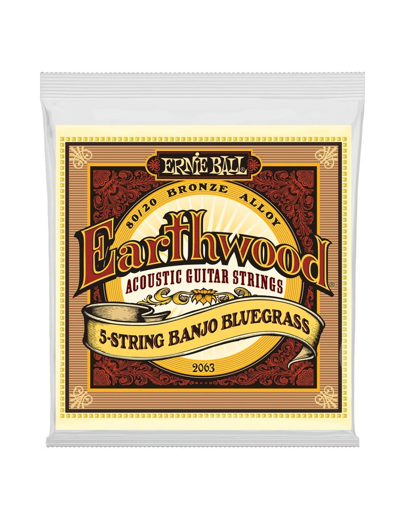 Ernie Ball Ernie Ball Earthwood 5 String Banjo 9-20