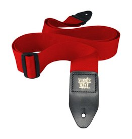 Ernie Ball Red Polypro Strap