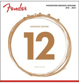 Fender Phosphor Bronze Acoustic, 12-53