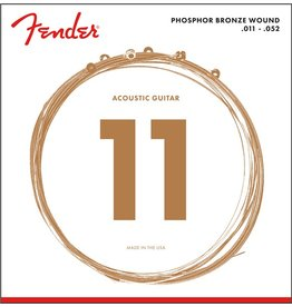 Fender Phosphor Bronze Acoustic, 11-52