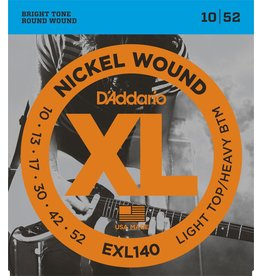 Daddario EXL140 Light/Heavy 10-52