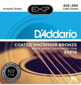Daddario EXP16 Coated Light 12-53