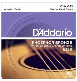 Daddario Daddario EJ26 Custom Light 11-52