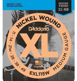Daddario EXL115W Medium 11-49
