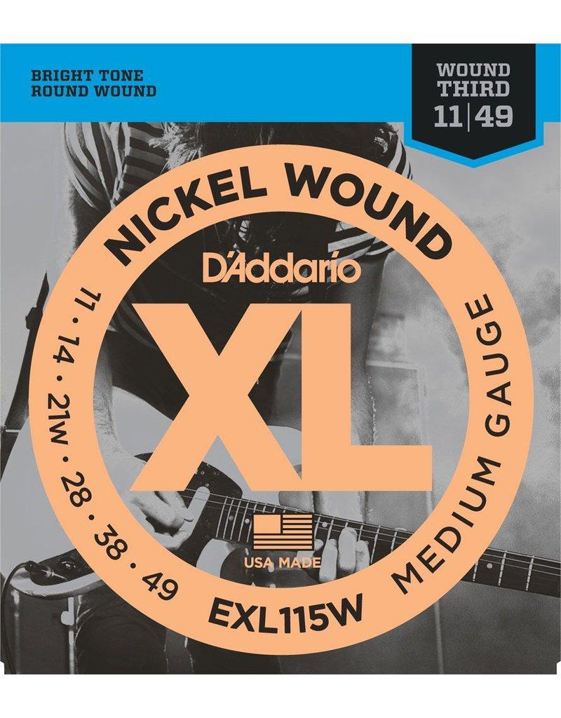 Daddario Daddario EXL115W Medium 11-49