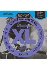 Daddario Daddario EXP115 Coated Medium 11-49