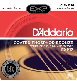 Daddario EXP17 Coated Medium 13-56