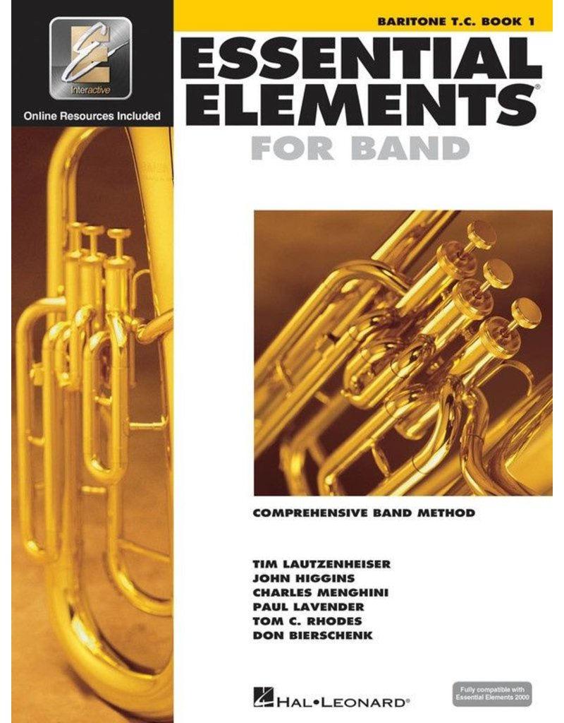 Essential Elements Essential Elements Baritone TC Book 1
