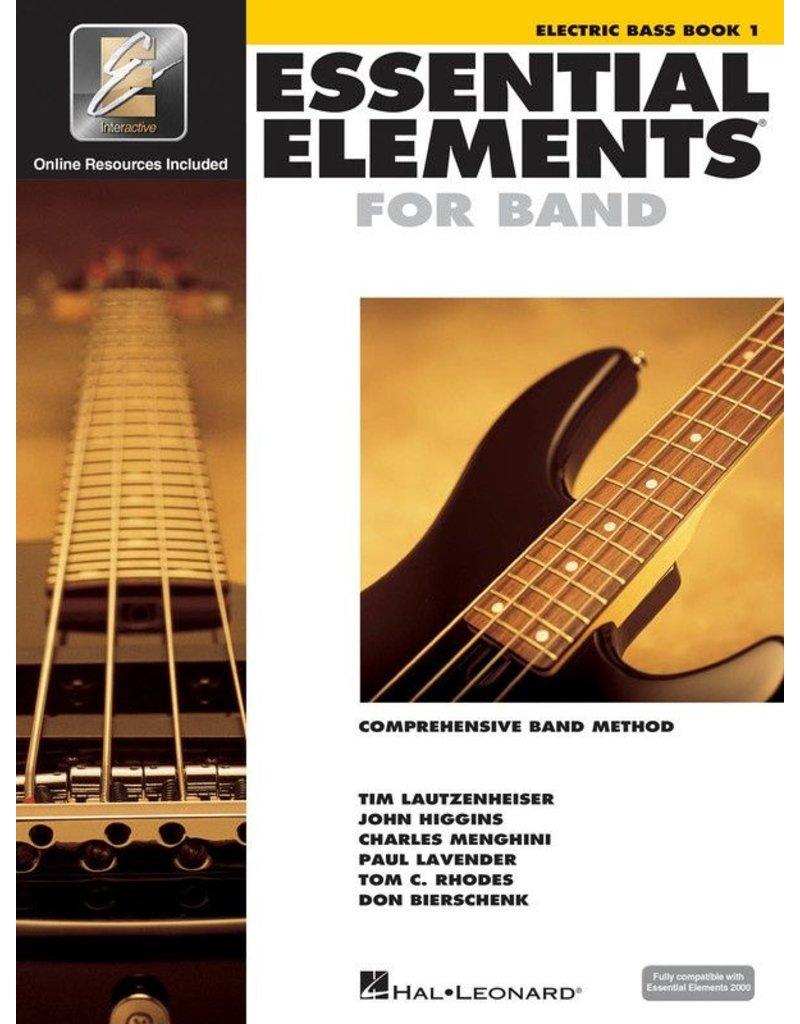 Essential Elements Essential Elements Bass Guitar Book 1