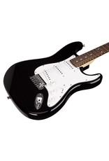 SX SX Full Size Electric Guitar Pack, Black