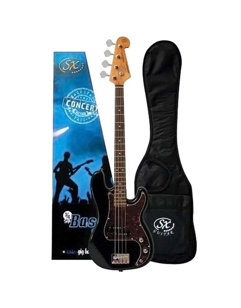 SX SX 3/4 Bass Pack, Black
