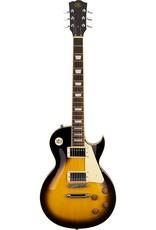 SX SX LP Style Electric Guitar Pack, Vintage Sunburst