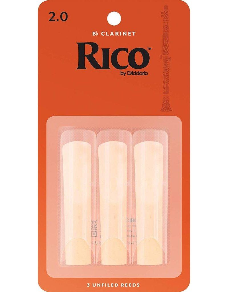 Rico Rico Bb Clarinet Reeds 2 (3 Pack)