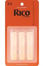 Rico Rico Bb Clarinet Reeds 3 (3 Pack)
