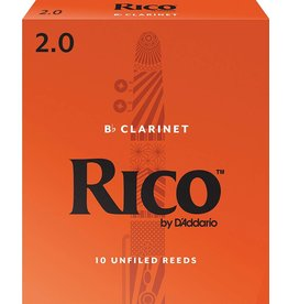 Rico Rico Bb Clarinet Reeds 2 (10 Pack)