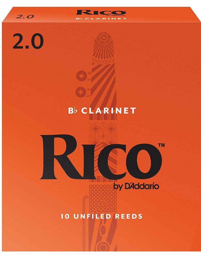 Rico Rico Bb Clarinet Reeds 2 (10 Pack)