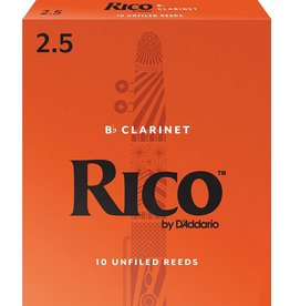 Rico Rico Bb Clarinet Reeds 2.5 (10 Pack)