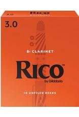Rico Rico Bb Clarinet Reeds 3 (10 Pack)