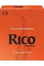 Rico Rico Alto Sax Reeds 1.5 (10 Pack)