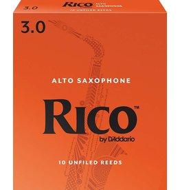 Rico Rico Alto Sax Reeds 3 (10 Pack)