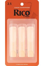 Rico Rico Tenor Sax Reeds 2.5 (3 Pack)