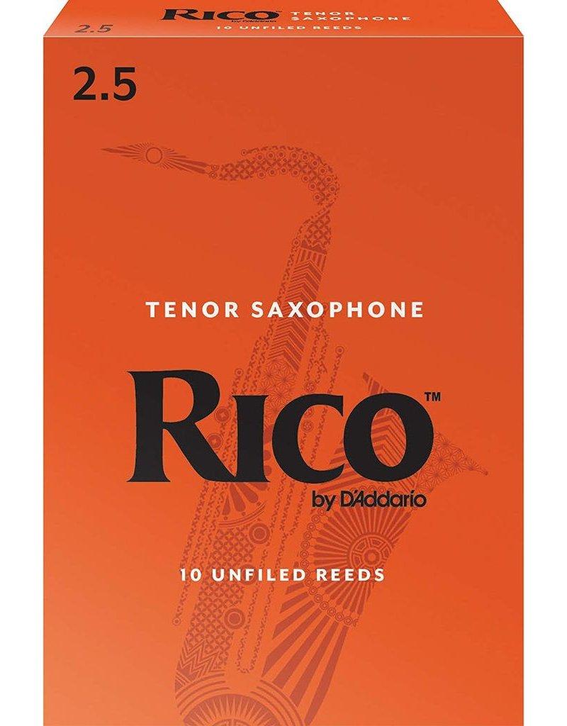 Rico Rico Tenor Sax Reeds 2.5 (10 Pack)