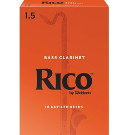 Rico Bass Clarinet Reeds 1.5 (10 Pack)